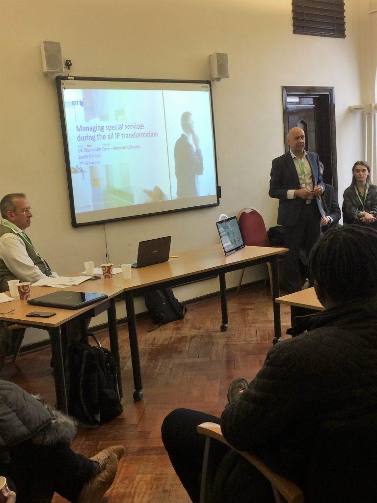 BT Presentation on digital switchover