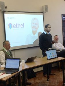 Deepak showcasing ETHEL