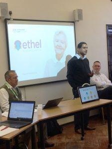 Deepak showcasing ETHEL