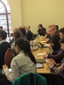 Provider members watching presentations